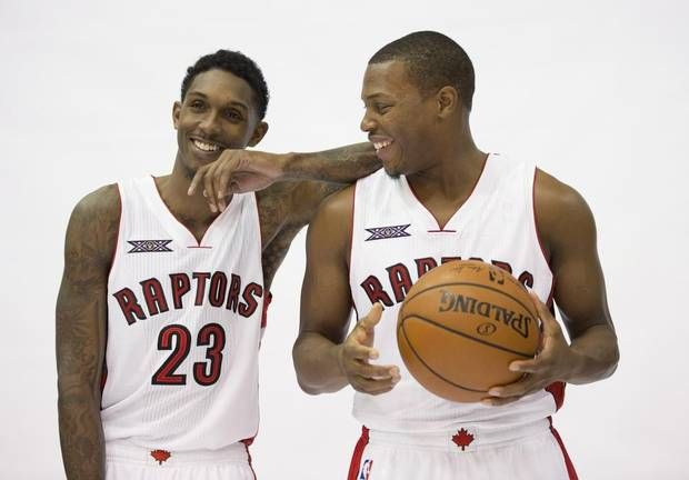 Lou Williams and Kyle Lowry