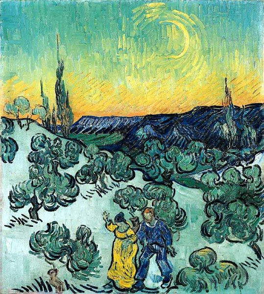 passeio ao crepusculo - Van Gogh Museu do Masp - SP