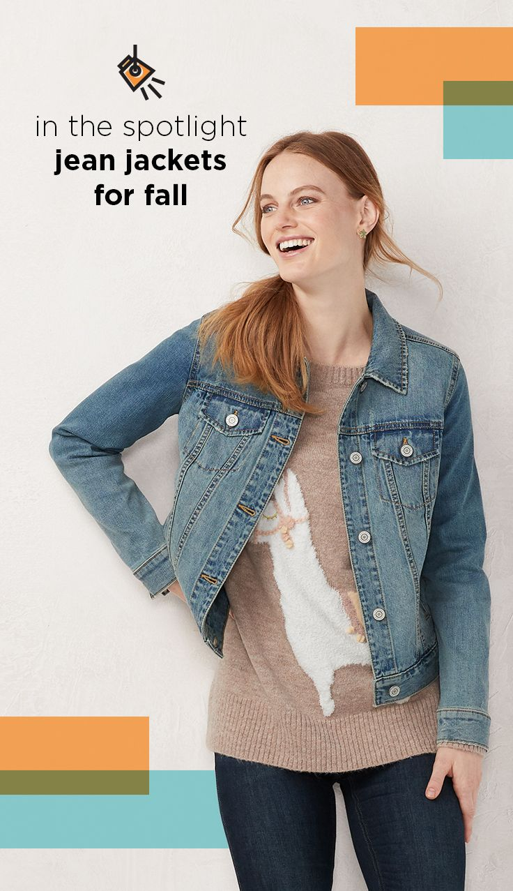 In The Spotlight Find Cute Jean Jackets For Fall At Kohl S This Season It S All About Layers Start W Cute Jean Jackets Denim Coat Jacket Denim Jacket Women [ 1277 x 736 Pixel ]