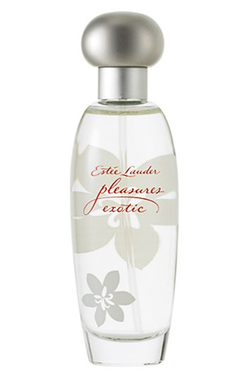 Own it...love it. Estee Lauder Pleasures. The luscious new feeling in fragrance. A tropical delight... let it tempt you with its sparkling blend of exotic fruits and flowers. Like mango passion fruit cocktail, juicy citrus fruits and watery lychee, delectably combined with island bamboo flowers, orange blossom and dewy bougainvillea vine. #perfume #fragrance