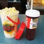 Refillable cups at Universal Studios Florida.