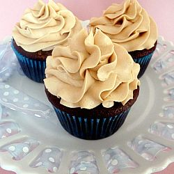 Mocha Cupcakes with Espresso Buttercream Frosting | Tasty Kitchen: A Happy Recipe Community!