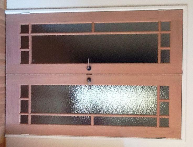 Custom internal timber French doors