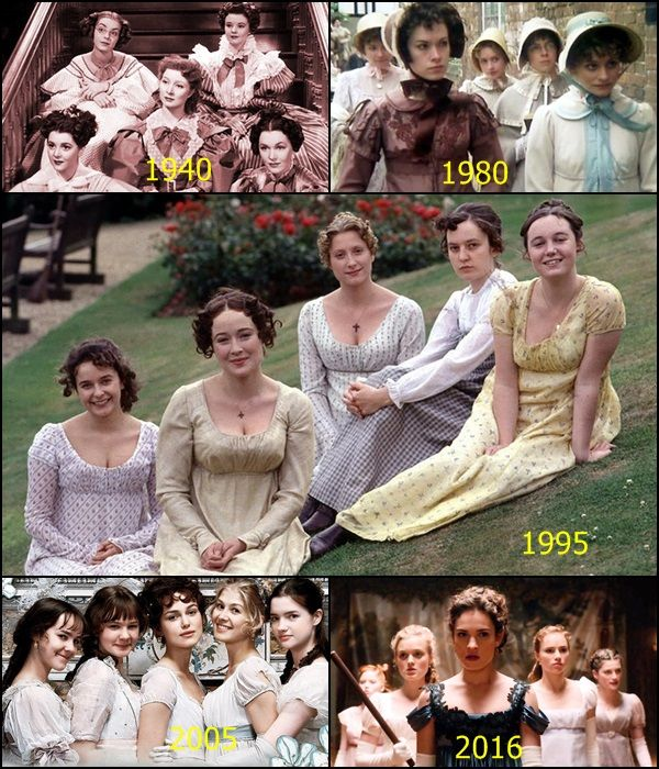 Pride and Prejudice - The Bennet sisters