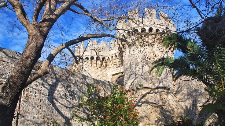 Grecia: il Palazzo del Gran Maestro sull'isola di Rodi