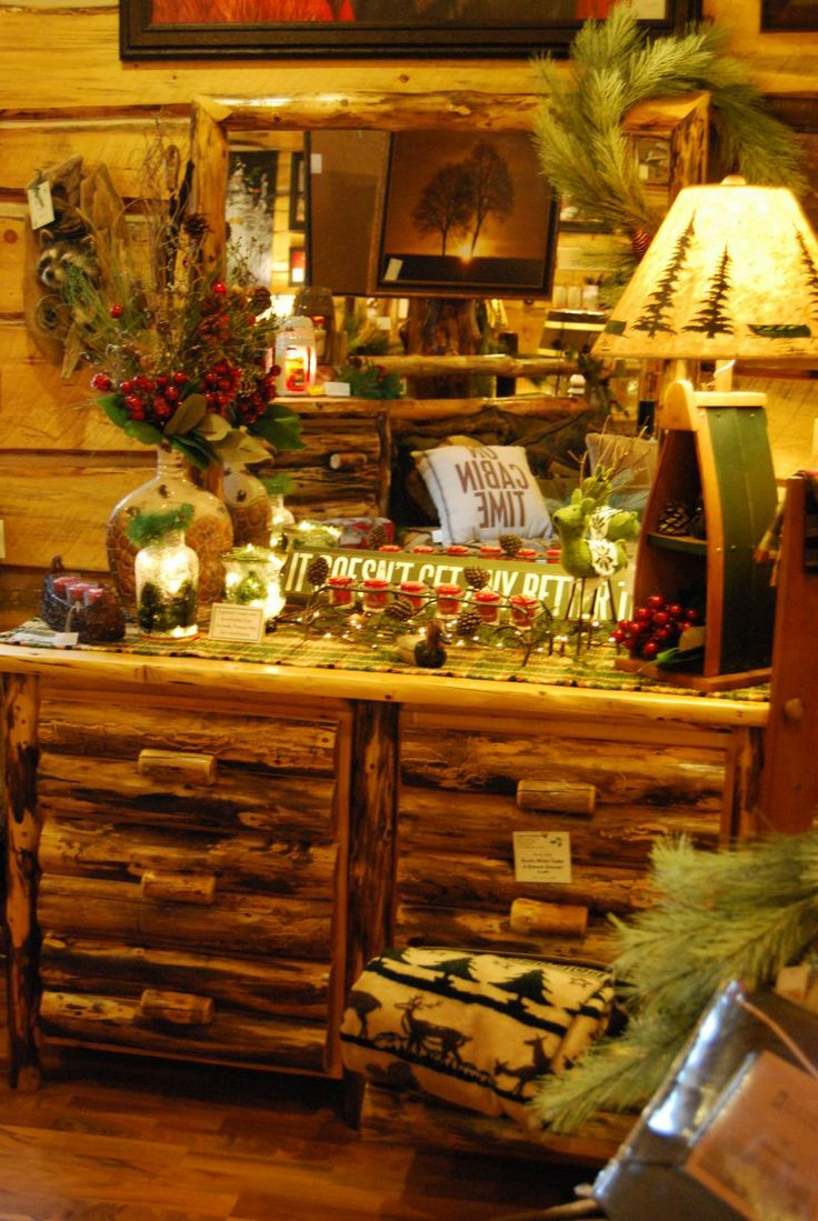17 Best Images About Amish Made Log Furniture On Pinterest