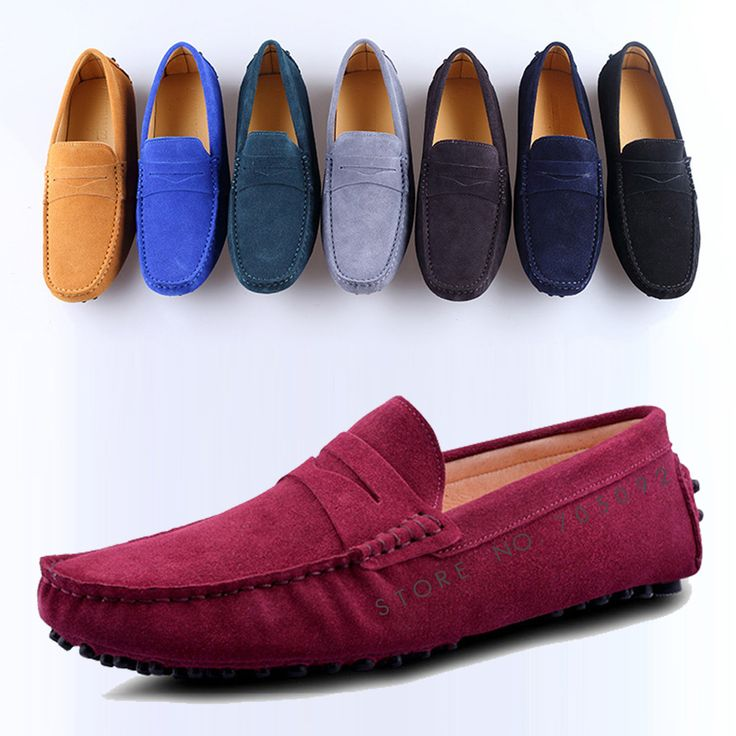 >> Click to Buy << 2017 Pop Style Men's Casual Loafer Shoes EU38-45 High Quality Handmade Breathable Genuine Leather Gommin Shoes 8Colors custom #Affiliate