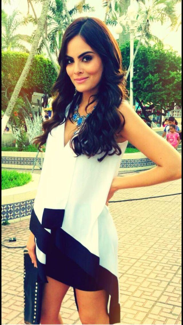 Ximena Navarrete as Marina Reverte wish i was half as pretty as her she gorgeous