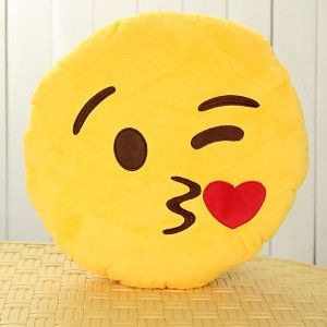 Cute Emoji Plush Pillow One