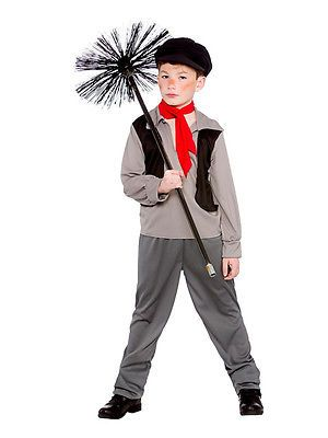 Boys victorian urchin dickens book day chimney #sweep kids #fancy #dress costume, View more on the LINK: http://www.zeppy.io/product/gb/2/201444298227/