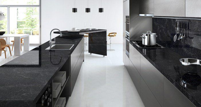 מטבח שחור שיש Google Search With Images Kitchen Design