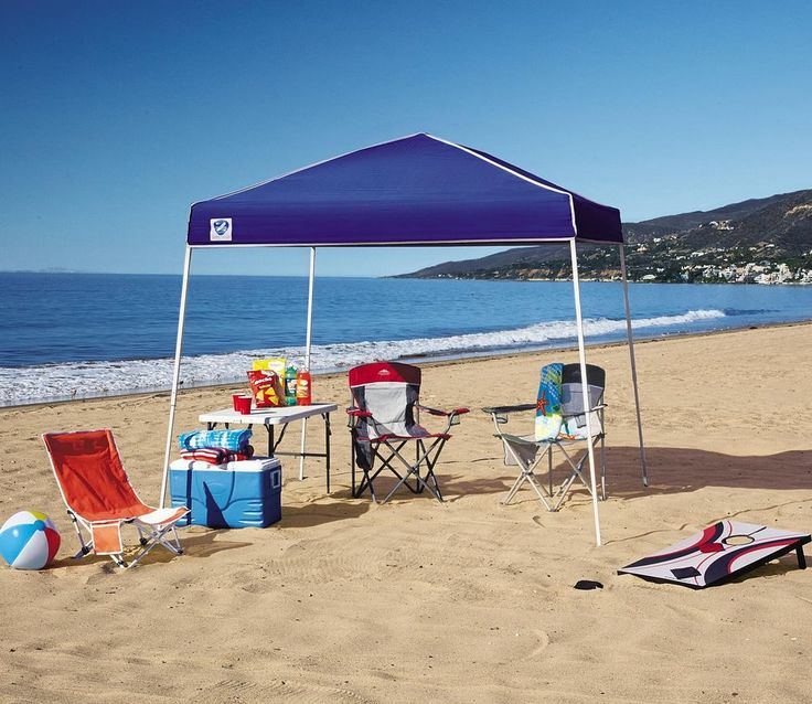 Pop Up Canopy 10x10 Gazebo Portable Beach Garden Picnic Sun Shade Party Tent Zshade Outdoors And Sport Equipment Pinterest Tents