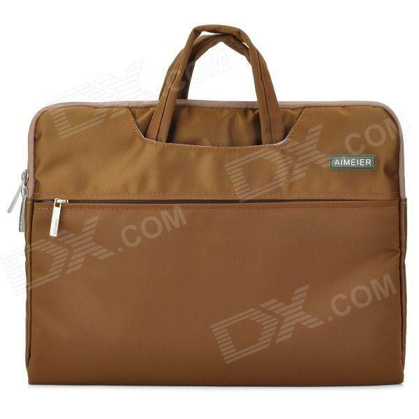 "Ultra-Slim Fashion Nylon Tote Bag for 13.3"" Tablet PC / Laptop - Brown Price: $21.70"