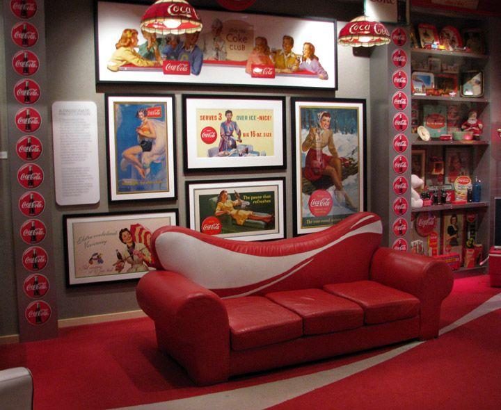 27 Best Coca Cola Furniture Images On Pinterest Coke