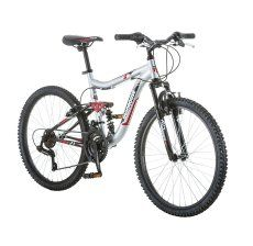 MTB Kids Hyper Shocker Mountain Bike Boys/' Riding Bicycle 7 Speed Xmas Gift 20/'/'