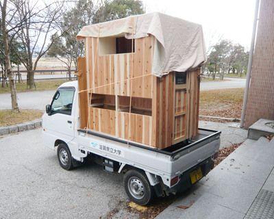 クラフト屋台は各地に赴いて展開します。  ですので、遠距離の移動の際には屋台を持ち運ばなければなりません。  しかし、作業が出来るスペースを確保す...