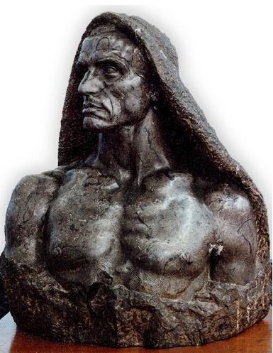 Quentin de Torre Berastegui (1877-1966)   Docker of Bilbao   Portrait Bust