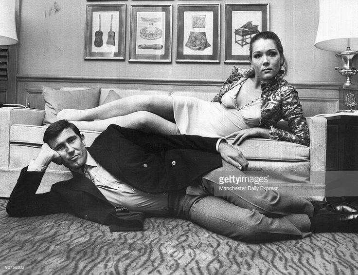 British actress Diana Rigg starred as Tracy Di Vicenzo opposite George Lazenby in the James Bond film, �On Her Majesty's Secret Service�, which was shot on location in Switzerland.