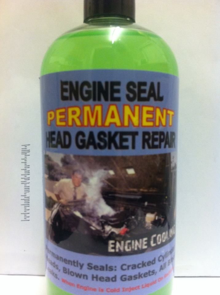 Engine Seal Cracked Cylinder Heads,Blown Head Gaskets, All Block Leaks.,,,,330ML