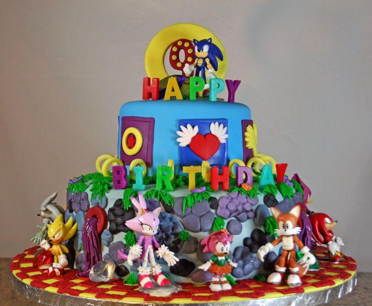 Sonic Cake Topper Tutorial