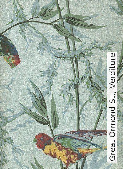 Bild: Tapeten - Great Ormond St., Verditure