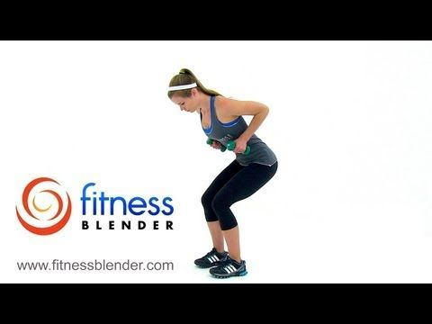 20 Minute Toned & Lean Arms Workout – Rhomboids, Shoulders, Bicep, Tricep, and Chest