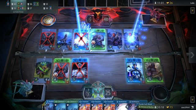Dota 2 Card Game Artifacts Beta Quietly Delayed And Shortened