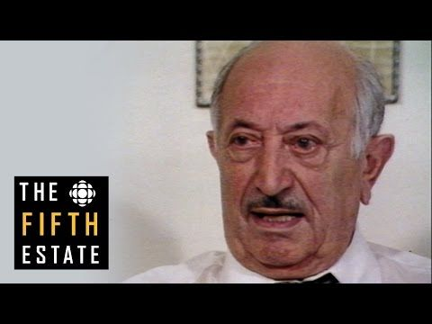 the fifth estate: Nazi Hunter Simon Wiesenthal : Know Thy Neighbour (1980)