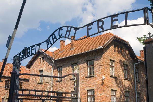 Auschwitz - Arbeit Macht Frei Gate