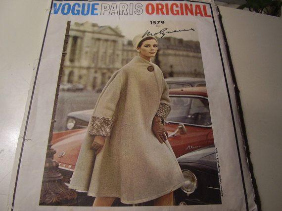 Vintage 1960's Vogue 1579 Paris Original Molyneux by TheLastPixie
