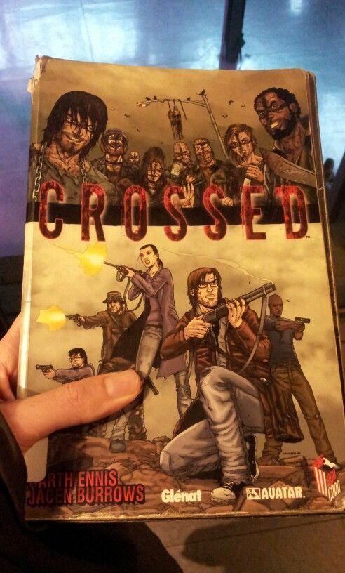 """""""Crossed"""", cómic. Creo que de los mejores y que me han impactado más, incluso mejor que The Walking Dead #comic #terror #ennis (1999?)"""