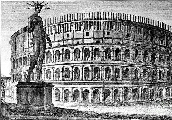 Once the Colosseum was built, ever modern stadium is simply a copy. #Colosseo #Rome #RomanHistory #TheGranddaddyOfThemAll #SeeItAndBelieveIt