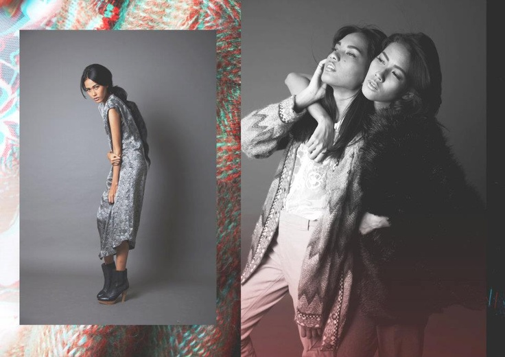 my current fave models, reti ragil and putri sulistyowati. Photo by Hilarius Jason
