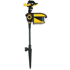 Contech Electronics CRO101 Scarecrow Motion-Activated Sprinkler