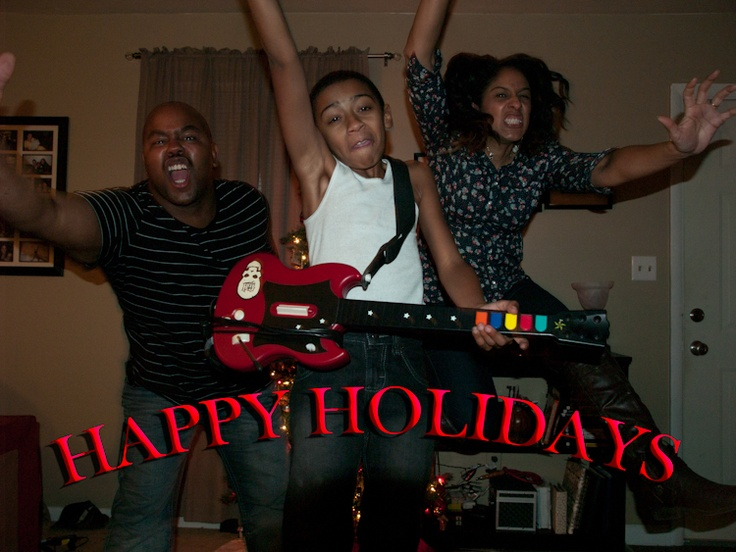 Family fun ... Awesome Christmas card