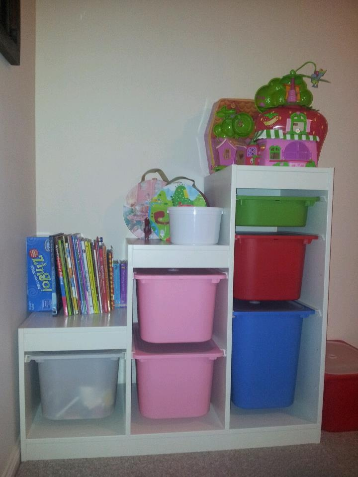 Ikea trofast toy storage kids room pinterest toys toy storage and storage - Toy shelves ikea ...