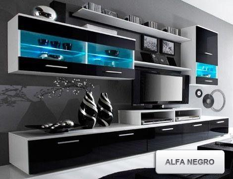 Descuentos y ofertas: Oferta conjunto de mueble de salón diseño moderno. - GROUPALIA