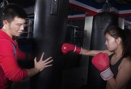 Boxing itself and training for boxing can get you in great shape -- boxers are among the fittest of all athletes. Success in boxing requires strength, muscular endurance, aerobic and anaerobic fitness, power, courage -- and plenty of heart. Even if you never intend to step into a boxing ring, your all-round fitness will benefit from these boxing...