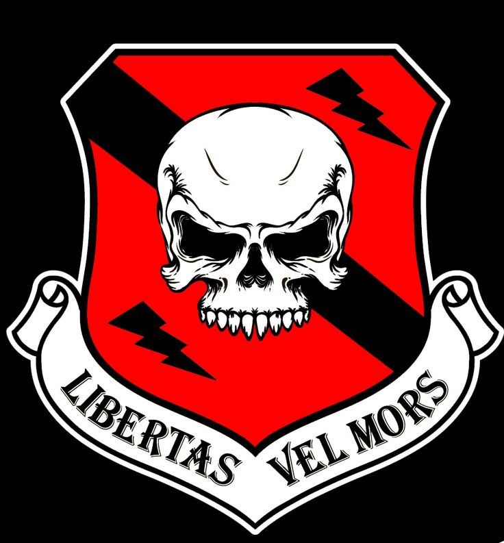 Biker Gang Logo Logo on black cropped | Gang patch inspo ...