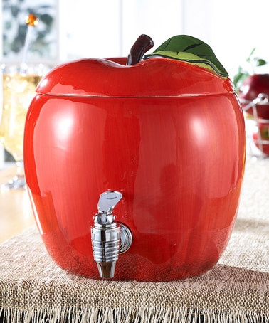 Take a look at this Jay Imports Apple Beverage Dispenser by Backyard Oasis Boutique on #zulily today!