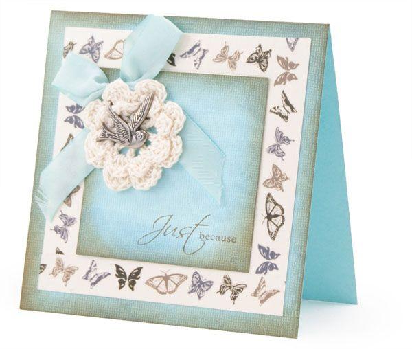 Kaszazz DEM465 Butterfly Masking Tape Card79397.jpg (600×508) By Sharon Edwards Kaszazz consultant 105210