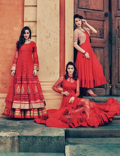 IT'S PG'LICIOUS  #anarkali #red