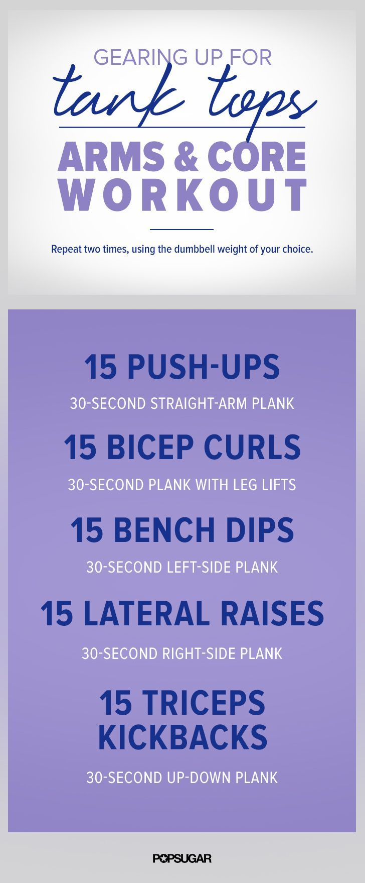 Get ready to have some toned arms