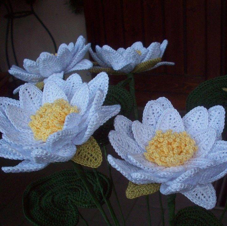 184 besten Beautiful Crochet Flowers Bilder auf Pinterest | Blumen ...