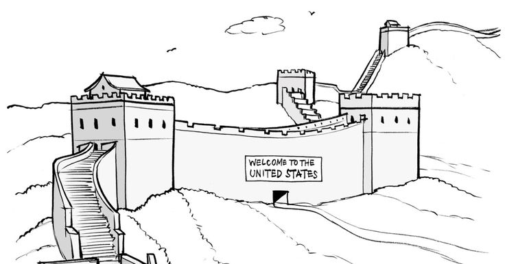 Daily Cartoon 081915 great wall - The New Yorker