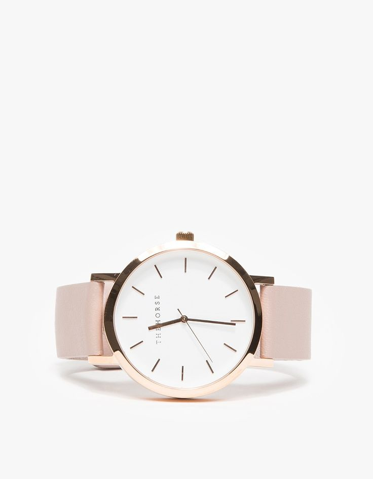 The horse Rose Gold/blush Band Watch in Gold (rose gold/blush)