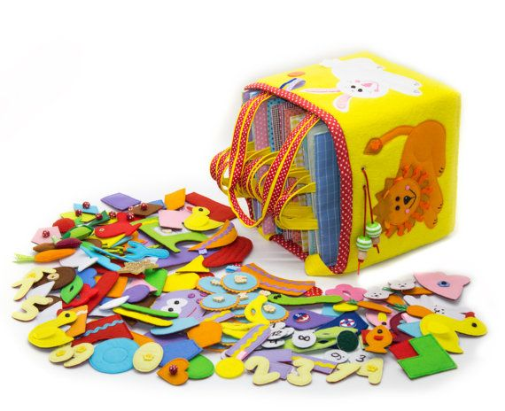 A big and amazing set of developing tablets is a unique developing toy which contains convenient gathering of twelve double-sided developing tablets for the work with different kinds of clasps: -Velcro -Buttons -Knobs -Shoelaces -Zipper This toy is perfect for families with more than one or two children because it allows all the children junior the same as older ones to play at the same time. Now you shouldn't buy a separate developing book for every child. The toy develops: -fine motor…