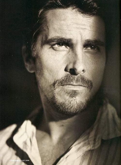 Christian Bale.....I thought he was a wonderful man for visiting the hospital in Colorado where the victims of the movie shootings were being carried for.