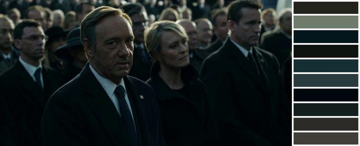 HOUSE OF CARDS (2013) Director: David Fincher | DoP: Eigil Bryld