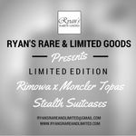 Moncler has chosen RIMOWA to customize the suitcase that symbolizes the German company, the Topas Stealth. #SALE Rare & Limited Goods (Rare_n_Limited) on Twitter